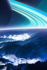 240x400 Rising Cosmos 4k