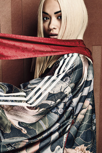 1125x2436 Rita Ora Adidas 2018