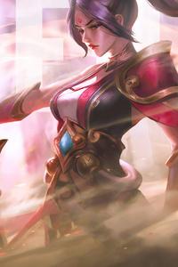 320x480 Riven League Of Legend