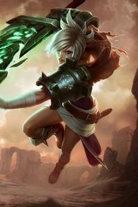 Riven League Of Legends 5k