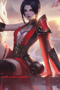 Riven League Of Legends Artwork
