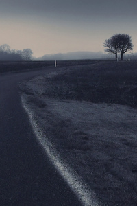 240x320 Road Dark