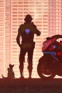1280x2120 Road Reaper Biker