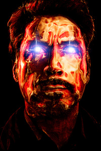240x320 Robert Downery JR As Tony Stark Art