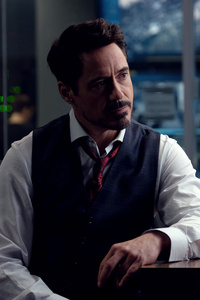 1242x2688 Robert Downey As Tony Stark In Avengers Infinity War 2018 4k