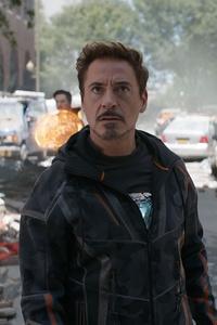 1125x2436 Robert Downey As Tony Stark In Avengers Infinity War 2018