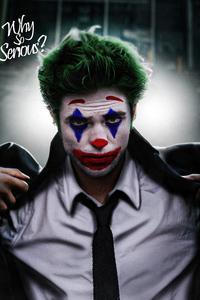 240x320 Robert Pattinson As Joker