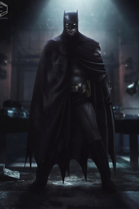 2160x3840 Robert Pattinson Batsuit Batman 4k