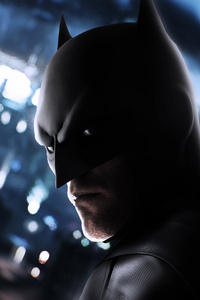 320x568 Robert Pattison New Batman Art 4k