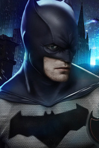Robert Pattison New Batman Art
