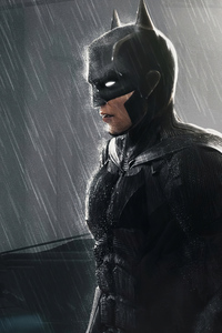 Robert Pattison New Batman Artwork