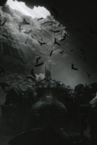 640x1136 RobertPattinson Batman In Cave