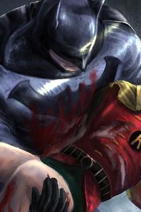 2160x3840 Robin Died In Batman Hands