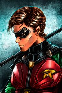 Robin Titans Artwork