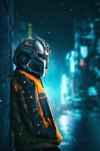 1440x2960 Robo Guy 4k