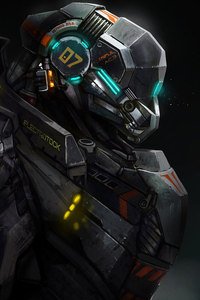 1080x2280 Robocop 5k