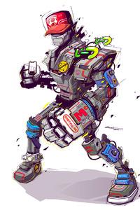 Robot 5k