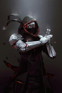 360x640 Robot Ninja 5k