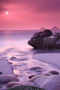 Rock Beach Cool Sunset · 1080x1920 Rock Beach Cool Sunset