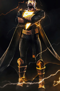 Rock Black Adam 4k 2020