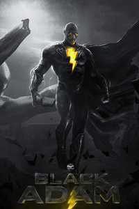 Rock Black Adam 4k 2021