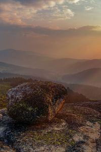 360x640 Rock Landscape Mountain Sunset Sky 5k