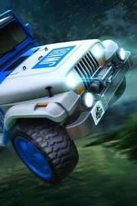 Rocket League Jurassic World JW 18 Car