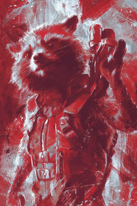 Rocket Raccoon Avengers Endgame 2019