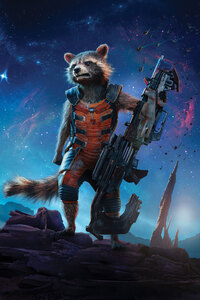 Rocket Raccoon Guardians Of The Galaxy 5k
