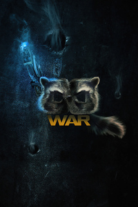 1242x2688 Rocket Raccoon Guardians Of The Galaxy Vol 3