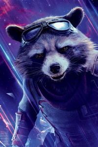 Rocket Raccoon In Avengers Endgame