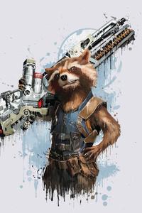 Rocket Raccoon In Avengers Infinity War 2018