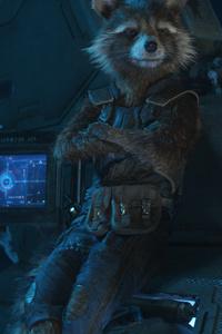 Rocket Raccoon In Avengers Infinity War
