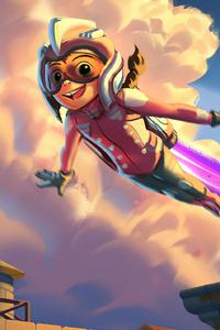 1280x2120 Rocketter Kitflying