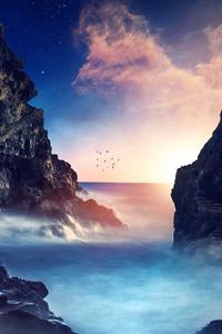 Rocks Dreamscape 4k