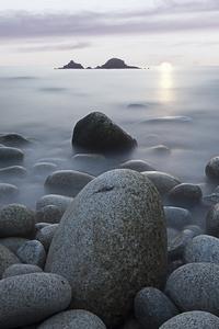 Rocks Stones Sea Sky Nature