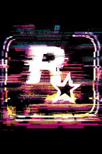 240x400 Rockstar Games Logo 4k