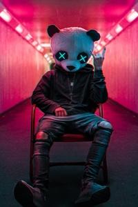 750x1334 Rockstar Panda 4k