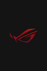 320x480 Rog Logo Art 4k