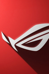 240x320 Rog Logo Red 4k