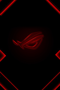Rog Red Logo 4k