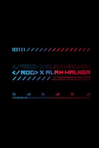 1125x2436 Rog X Alan Walker 5k