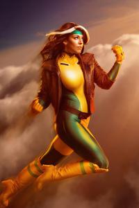1440x2560 Rogue X Men Cosplay Girl 5k