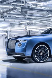 1440x2960 Rolls Royce Boat Tail 2021