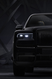 320x568 Rolls Royce Cullinan Black Badge 2019 10k