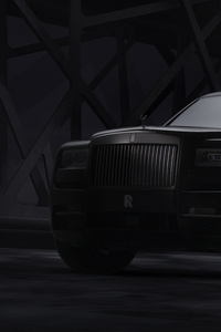 360x640 Rolls Royce Cullinan Black Badge 2019