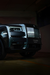 1280x2120 Rolls Royce Cullinan Black Badge 2020