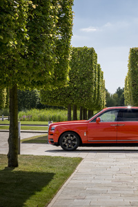 360x640 Rolls Royce Cullinan Fux Orange 2019 5k