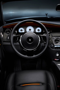 Rolls Royce Dawn Black Badge Interior 4k