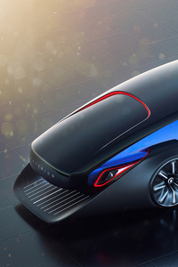 1080x2160 Rolls Royce Exterion Concept Top View